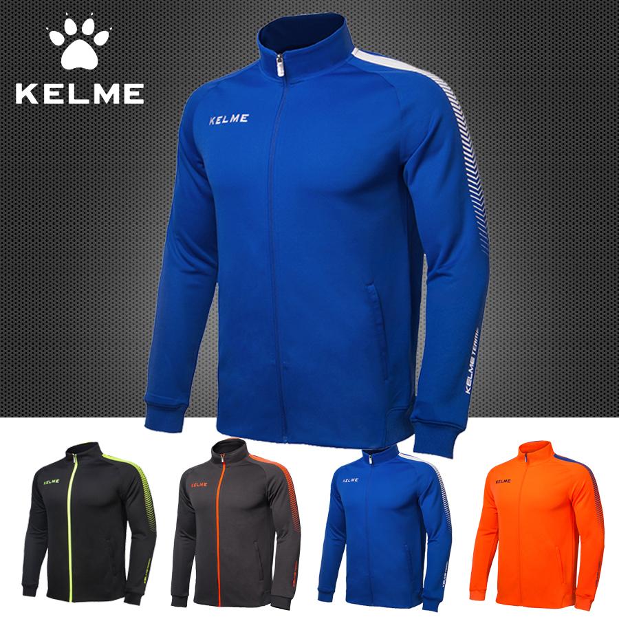 Áo khoác bóng đá Karl Mei áo dài tay mùa thu đông đang chạy áo khoác thể thao cho trẻ em 2017 K077 mới - Bóng đá
