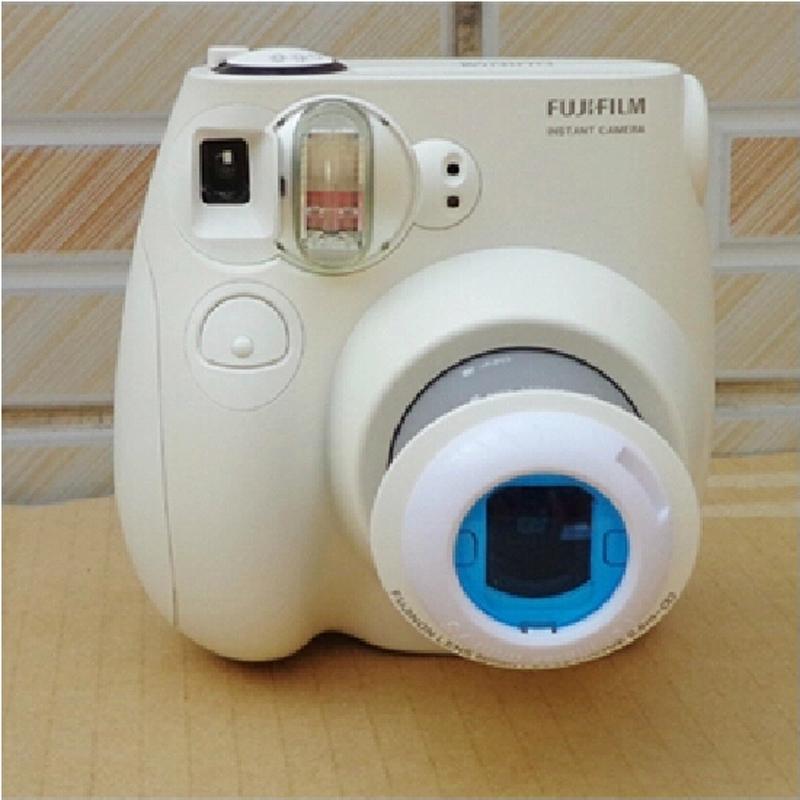 Объектив для автопортрета Поляроид mini7s камеры/8/9/25/70/90/w210/300 универсальный объектив набор из четырех цветных фильтров