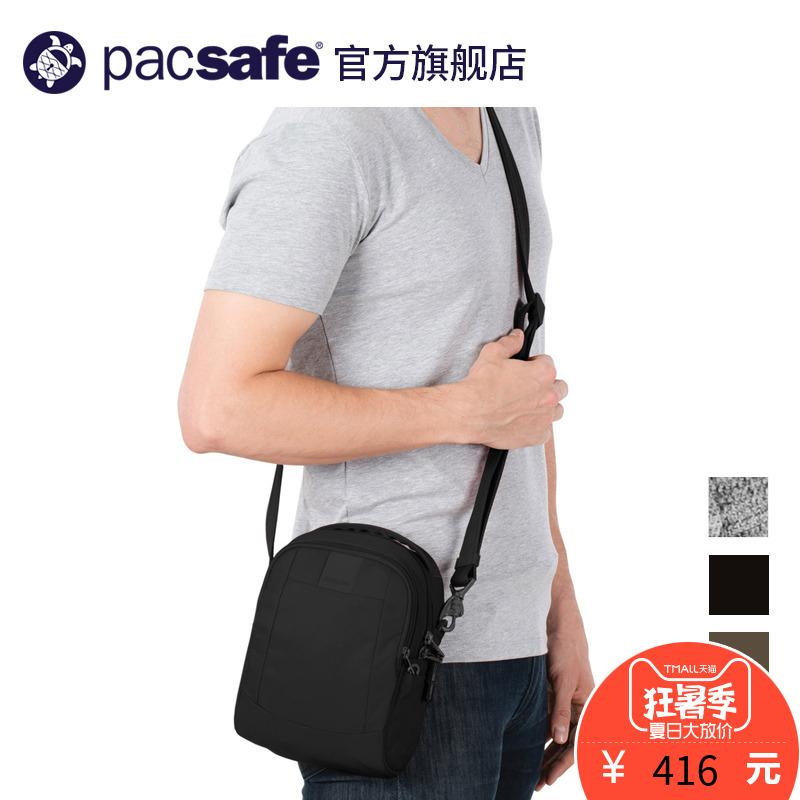 Pacsafe thể thao ngoài trời kinh doanh du lịch giản dị chống trộm cắt mini crossbody vai túi vai nhỏ túi