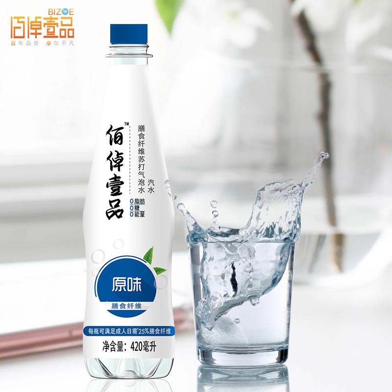 【健力宝】无糖苏打水420ml*6瓶
