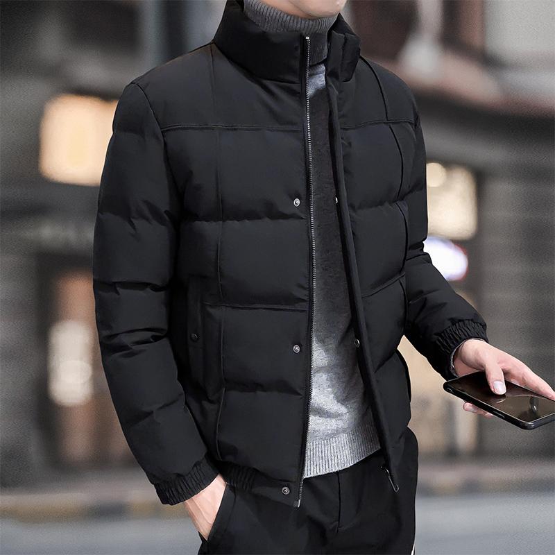 2020秋冬保暖棉衣男天猫商城立领棉服上衣时尚百搭新品外套