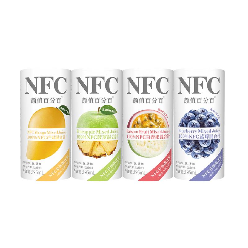 NFC纯果汁混合橙汁6瓶