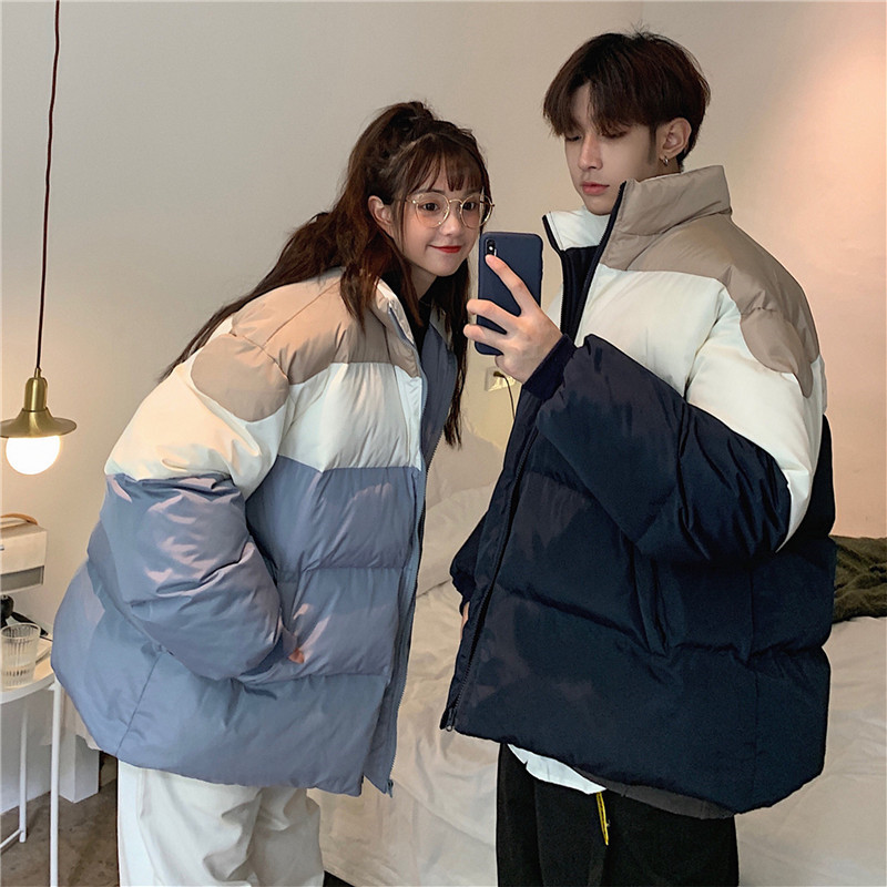 冬季男士棉衣2019新款韩版潮流情侣装棉服外套加厚短款面包服棉袄