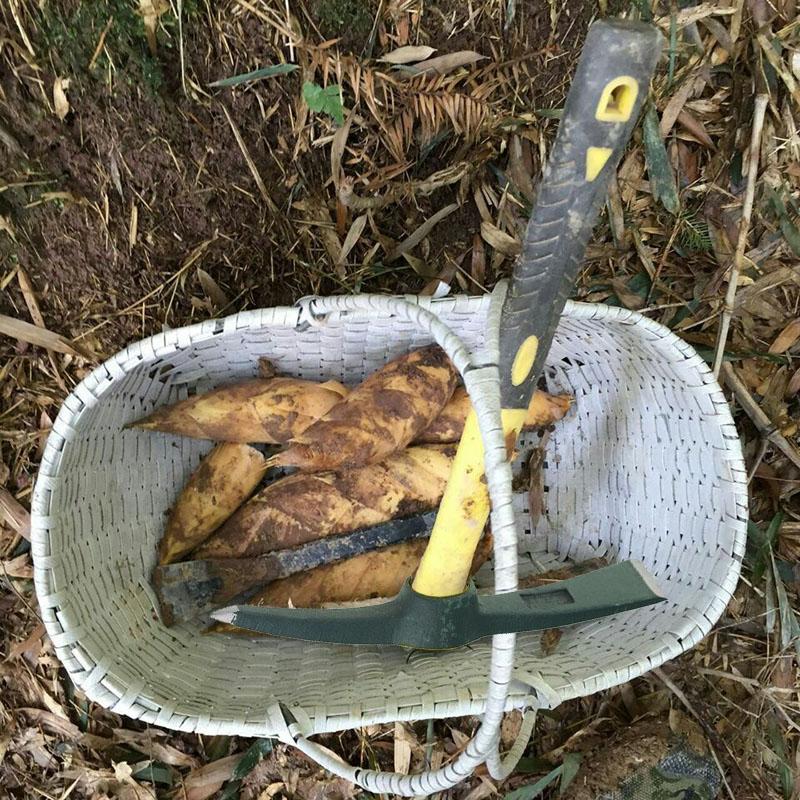 Изучение кемпинга, альпинизм на открытом воздухе, 镐 镐 десять слово 镐 Топорная голова копания бамбукового стрелкового инструмента 111201