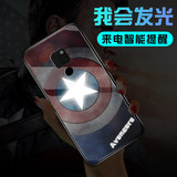 Marvel Huawei mate20pro mobile phone case call luminous mate20 glass protective cover Spiderman Captain America Iron Man Venom meta20 anti-drop mt20 all-inclusive personality m20 creative