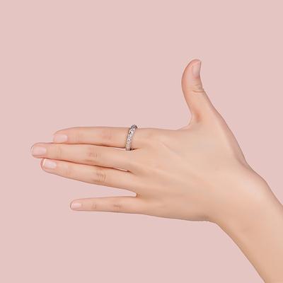 YVMIN尤目 甜食系列宽糖纸戒指 925银情侣简约男女款对戒食指戒