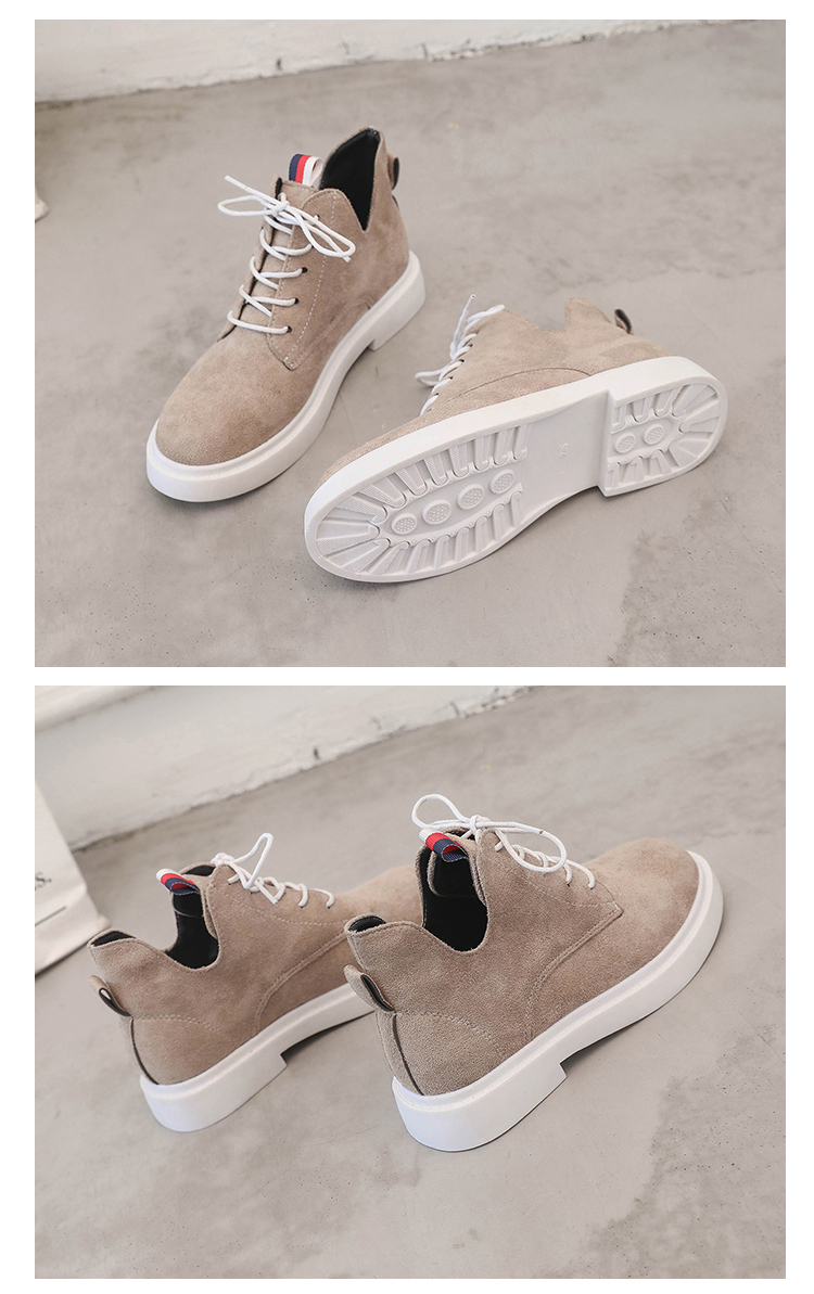 New single casual high-top round ankle boots 80
