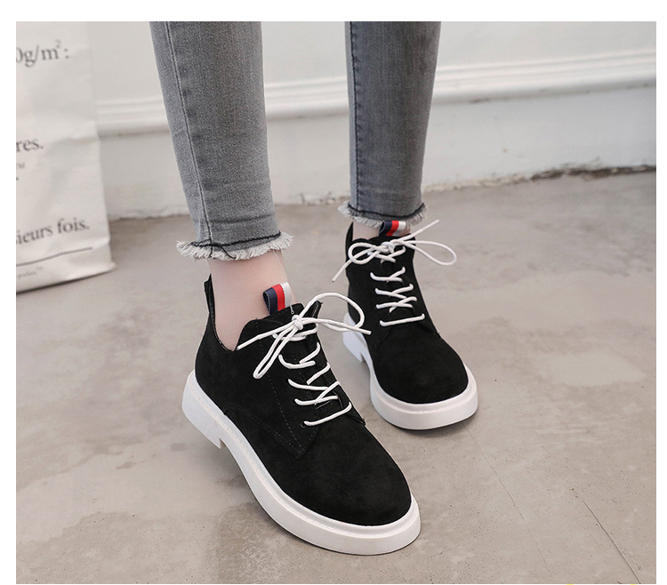 New single casual high-top round ankle boots 74