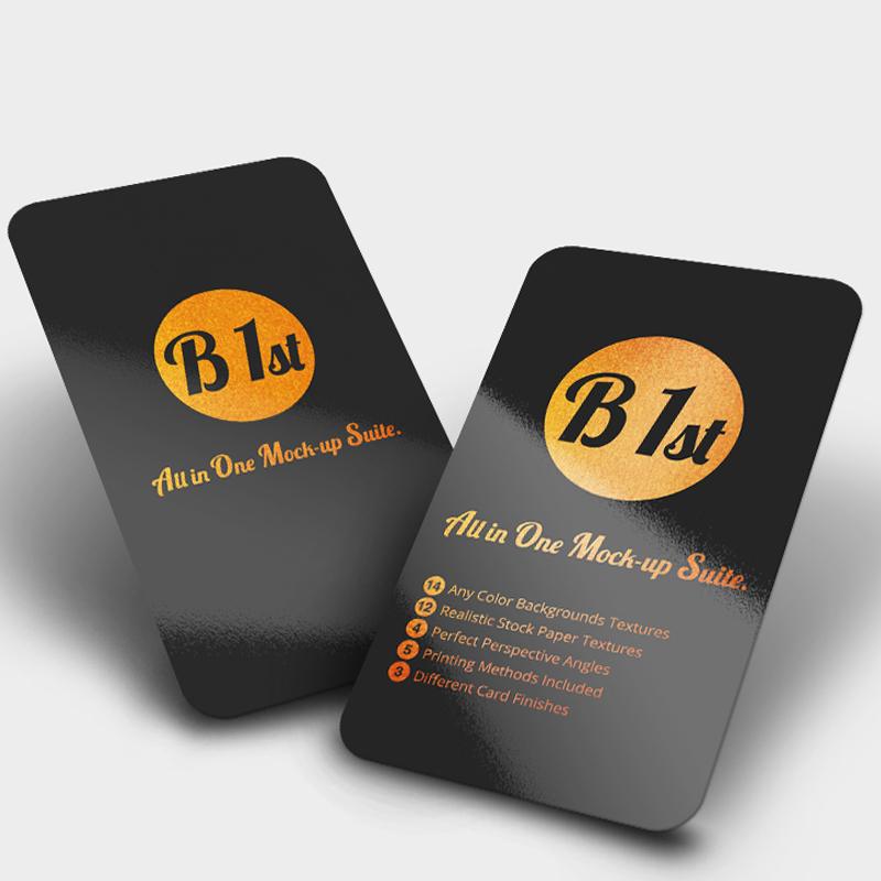Printed business card rounded corners for free design pvc double printed business card rounded corners for free design pvc double sided company business personality printing card reheart Images