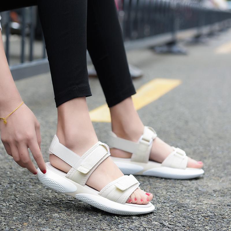 新款时尚夏季百搭ins潮凉鞋女