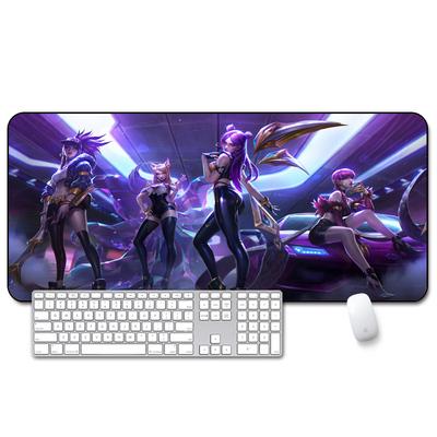 超大号鼠标垫游戏电竞桌垫加大加厚可爱动漫卡通创意家用键盘垫