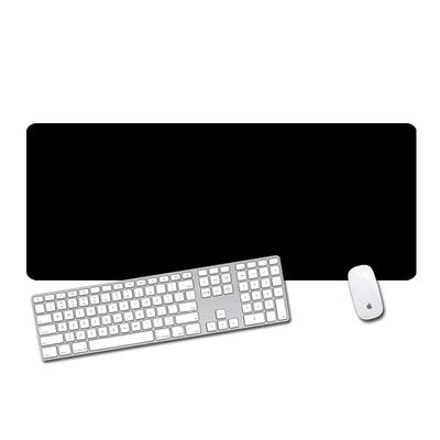 游戏超大号鼠标垫加厚纯黑锁边定制小号笔记本电脑办公桌垫键盘垫