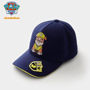 汪汪队儿童帽子春秋潮2020新款男童鸭舌帽女宝宝小孩棒球帽可爱