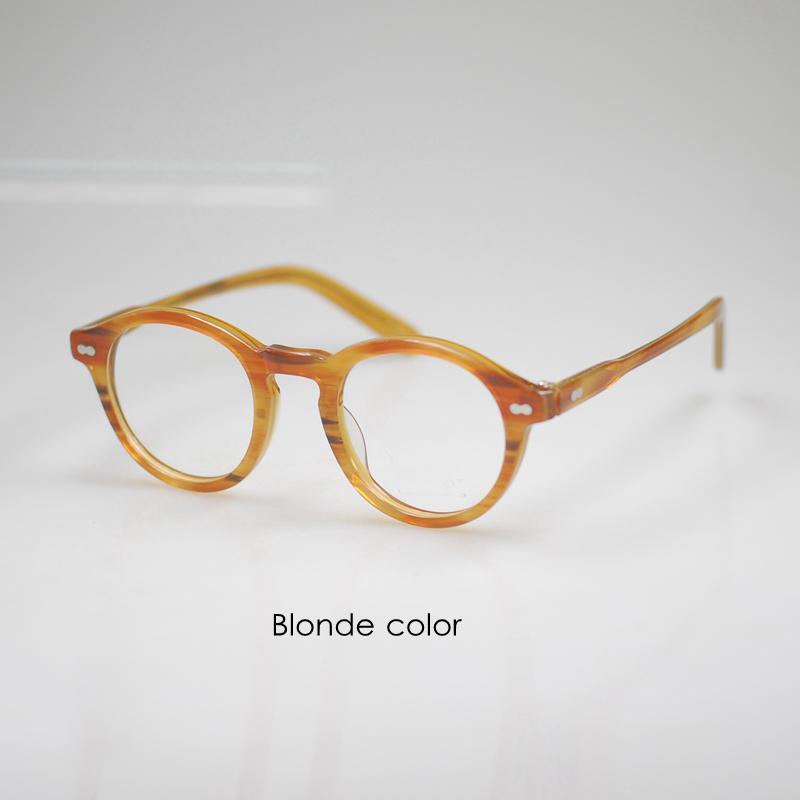 Vintage eyeglasses mens Johnny Depp rx eyeglasses women ...