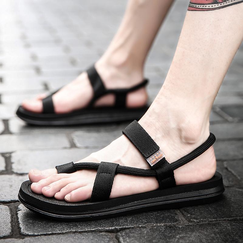拖鞋男士2020新款夏季个性室外沙滩凉鞋男鞋韩版潮流时尚外穿凉拖