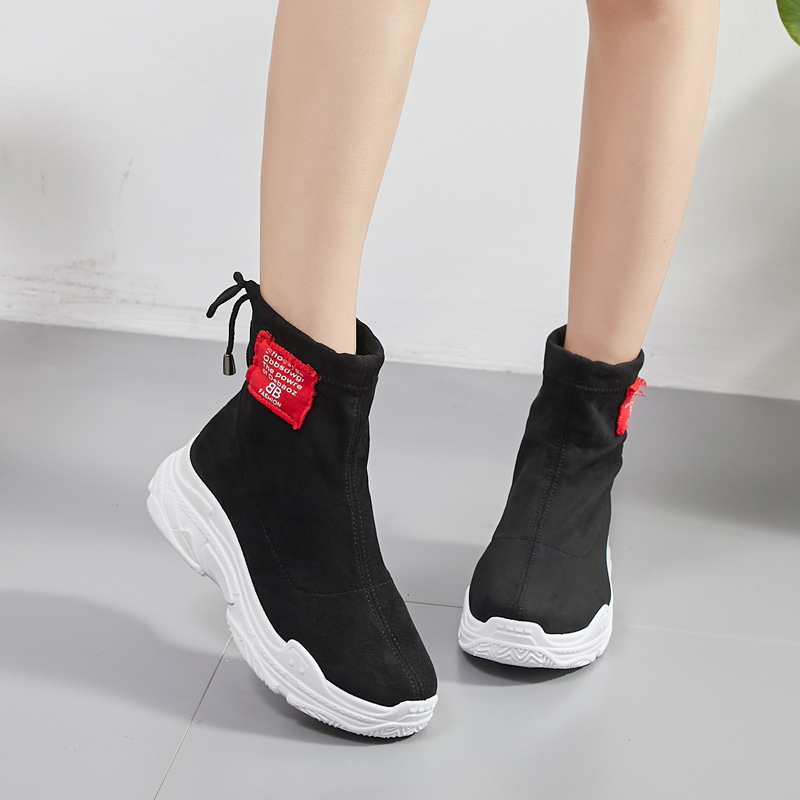 New wild casual high-top elastic socks shoes 7