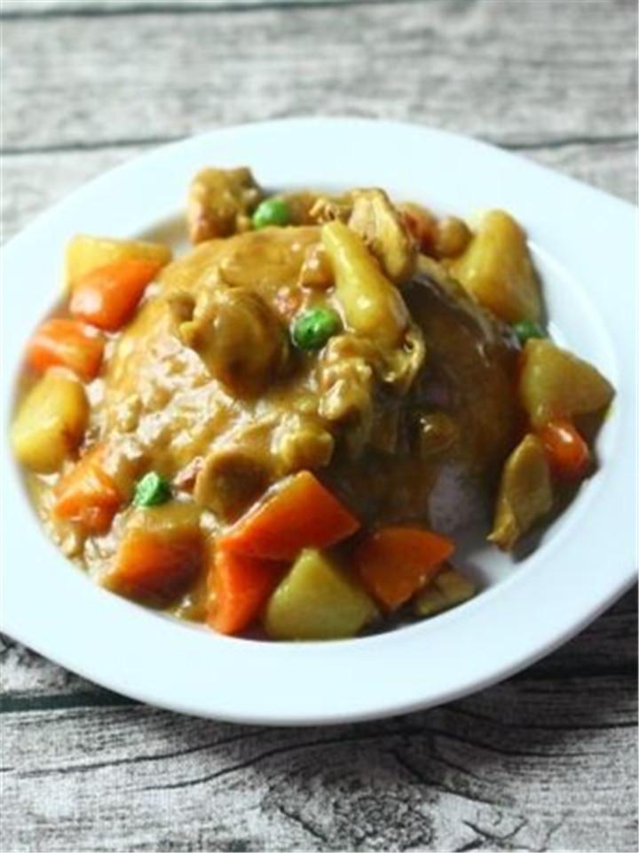 咖喱鸡肉饭冷冻料理包,厨房小白最爱