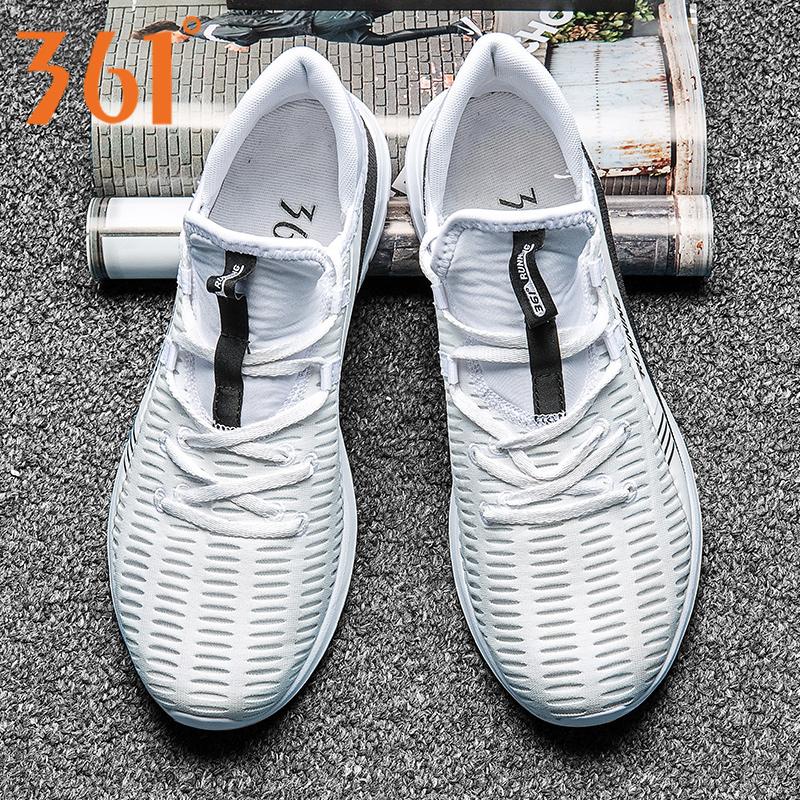 361运动鞋男2019夏季轻便跑鞋361度男鞋跑步鞋网面透气休闲鞋网鞋