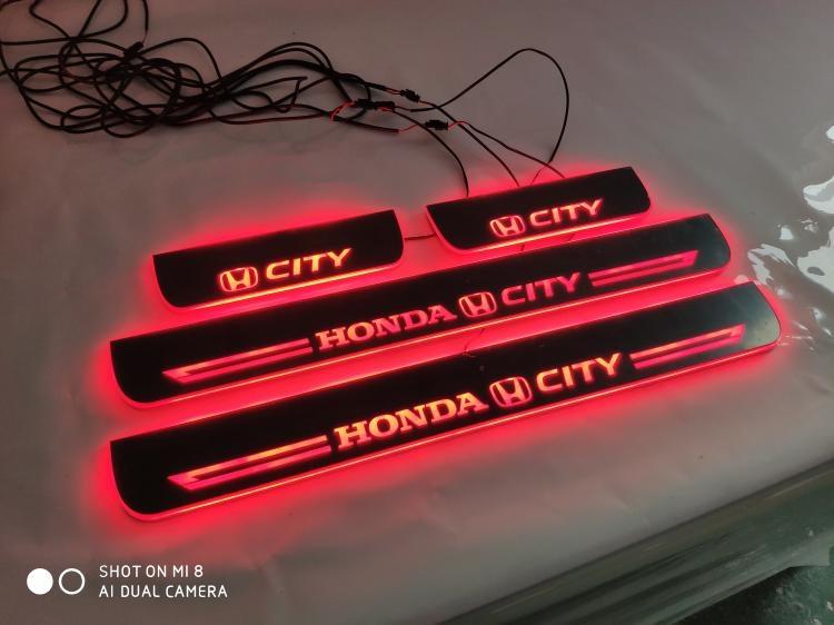 Ốp bậc cừa có đèn Led Honda City 2015-2018 - ảnh 6