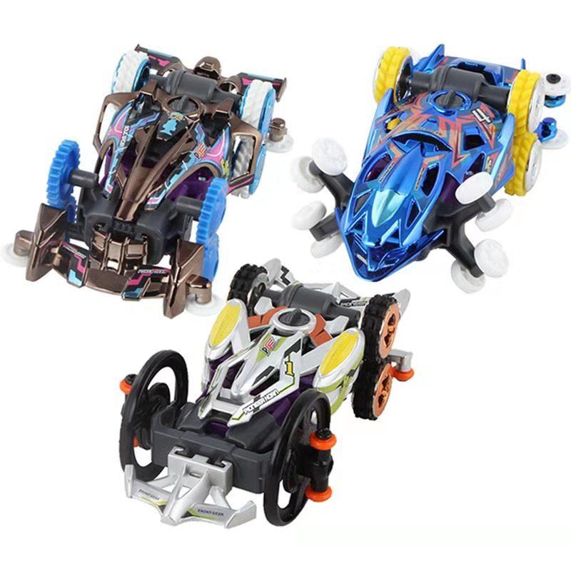 百变校巴汽车变形机器人儿童玩具校车巴士歌德消防警车六合一男孩