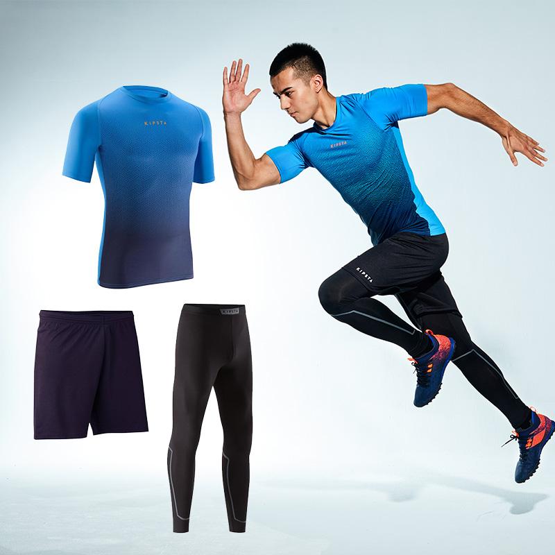 3 накладки - основной жесткий короткий рукав + узкие брюки + шорты