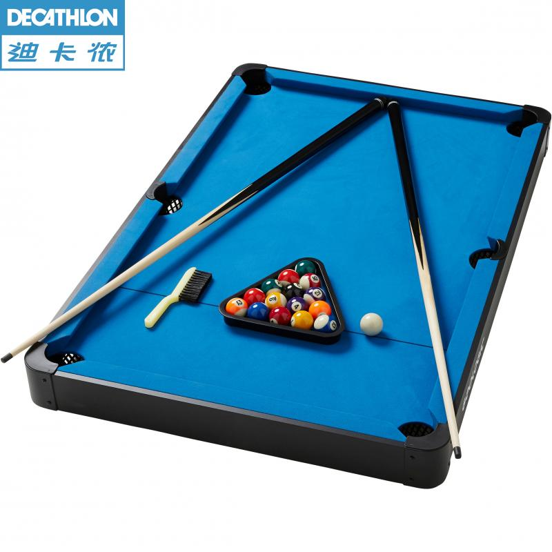 Decathlon MINI Pool Table Entertainment Mini Family Billiard Set - Mini billiards table set