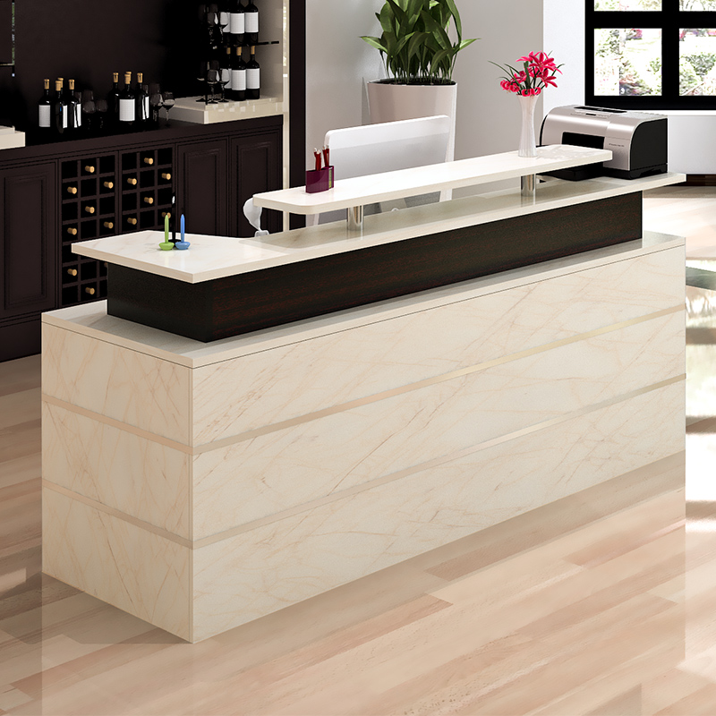 Cashier Counter Simple Modern Bar Table Company Reception Desk Beauty Nail Clothing