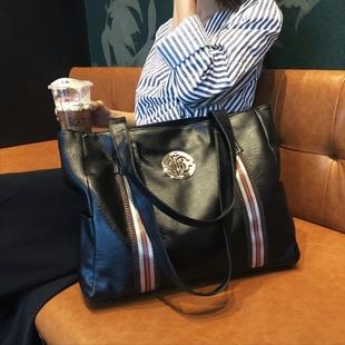 淘宝优惠券,淘宝内部优惠券,天猫优惠券免费领取-惠皮网-单肩女包包2018新款时尚手提包大容量韩版女士包包简约大气软皮
