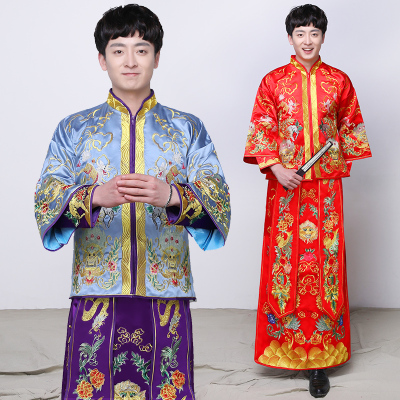 Traditional Chinese Clothing wedding dress toast dress, performance dress, Tang costume, Han costume,  Chinese wedding dress