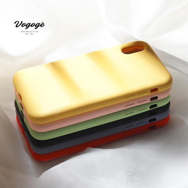 苹果马卡龙色液态手机壳,券后低至6.8