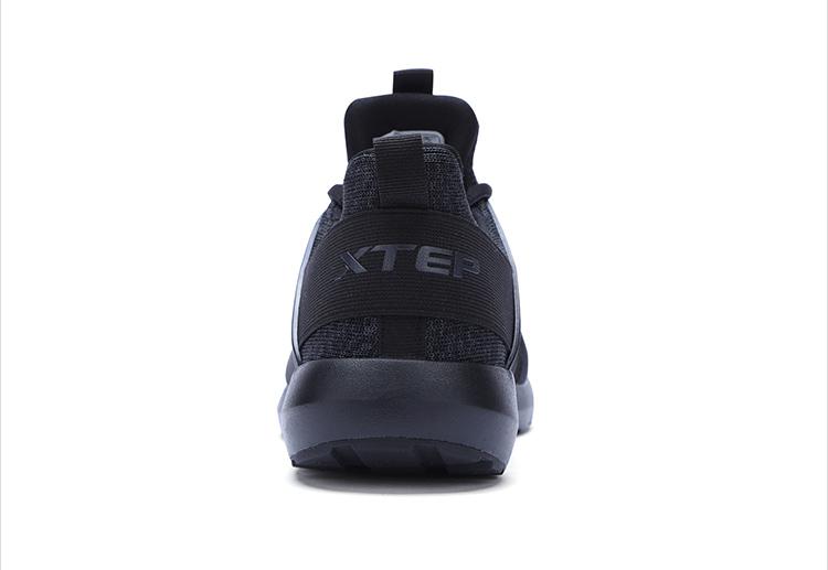 特步 男子休闲鞋2017新款 时尚潮流学生轻便低帮透气系带运动鞋983419329117-