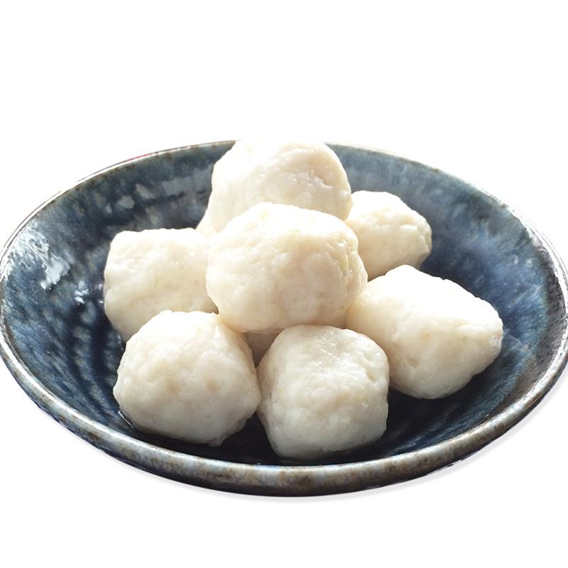 鱼丸湖北荆州特产鱼糕鱼丸子农家手工手打鱼圆漂元子火锅食材350g