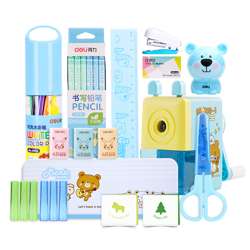 Effective Stationery Set Combination Christmas Gift Bag Childrens