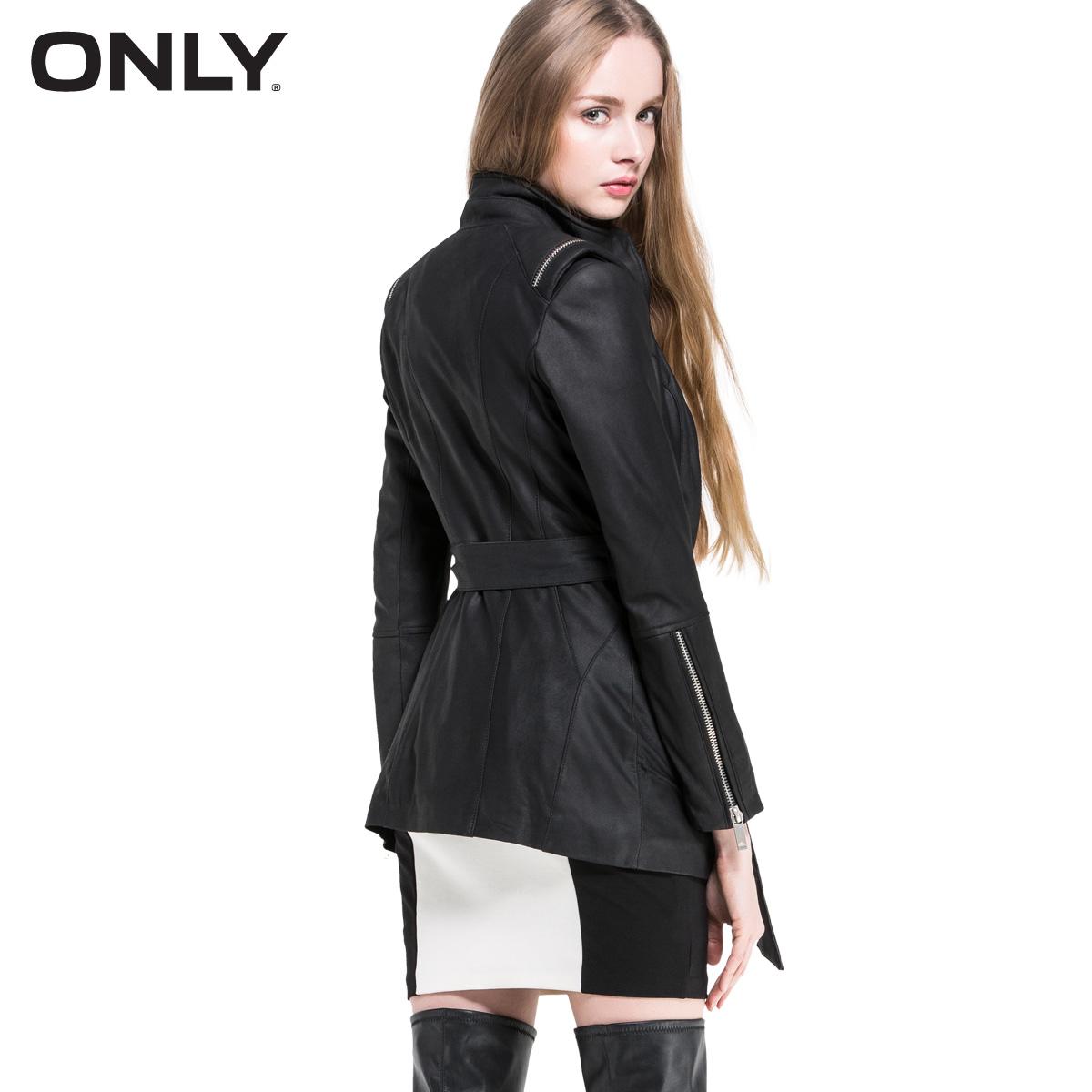 Кожаная куртка ONLY 115110004 ONLY2015