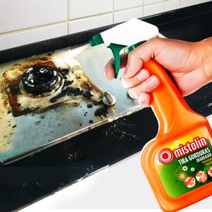 mistolin洗油烟机清洗剂厨房去油污神器强力除油渍污渍家用清洁