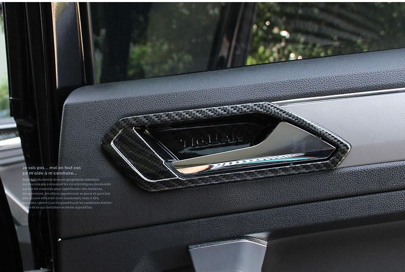 Ốp viền tay nắm cửa trong Volkswagen Tiguan 2017- 2019 - ảnh 15