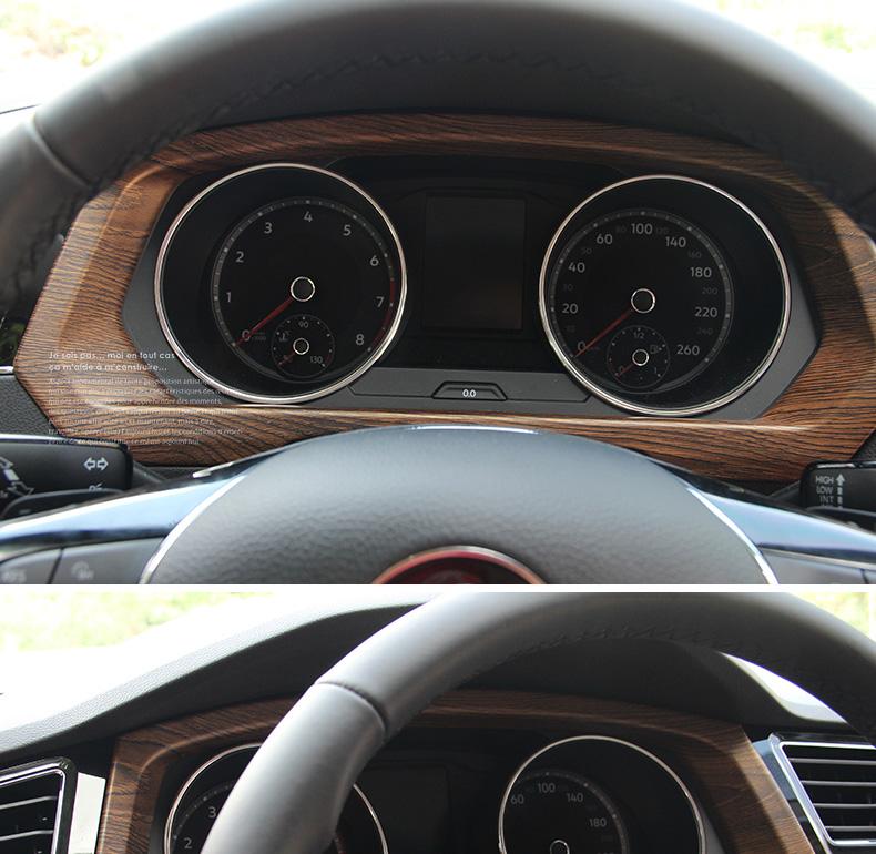 Ốp khung màn hình đồng hồ Volkswagen Tiguan 2017- 2020 - ảnh 10