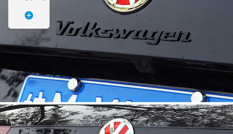 Chữ dán  trang trí xe Volkswagen Tiguan - ảnh 16