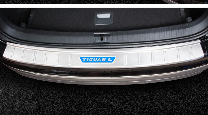 Ốp chống trầy cốp sau Volkswagen Tiguan Allspace 2017- 2020 - ảnh 17