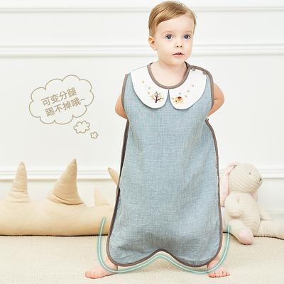 婴儿睡袋儿童薄款分腿蘑菇防踢被