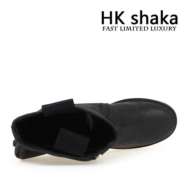 Мужская обувь hkshaka мужские сапоги старинные Мартин мужские коровьей Европа и Соединенные Штаты тенденция коротких специальные Новый Мужской ствол сапоги