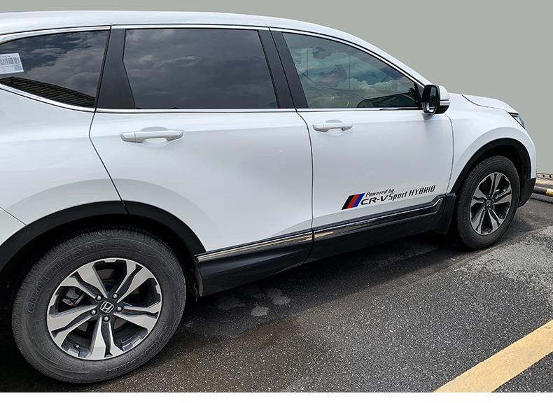 Tem dán trang trí xe Honda CRV - ảnh 11