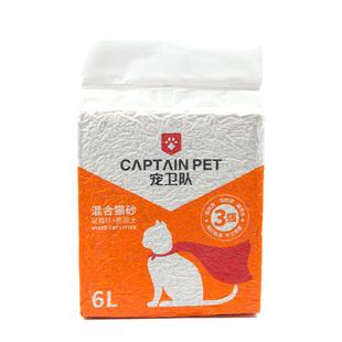 宠卫队混合猫砂豆腐砂6升