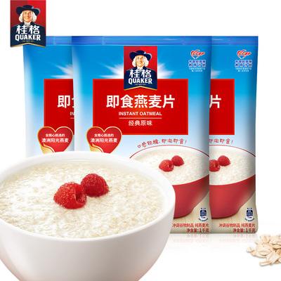 桂格 燕麦片1000g*3袋