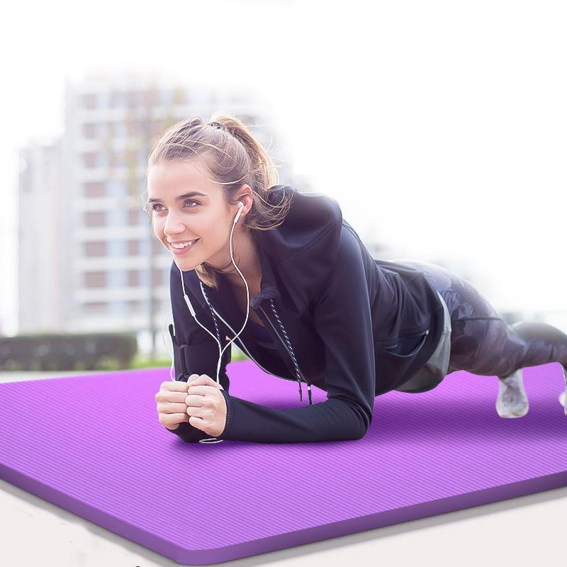 瑜伽垫初学者防滑加长加宽二三件套加厚男女健身瑜伽垫4