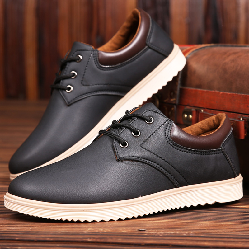 4fb9061850bb Spring and autumn men s shoes men s non-slip work shoes waterproof casual  shoes Korean youth shoes men s tide shoes chef shoes