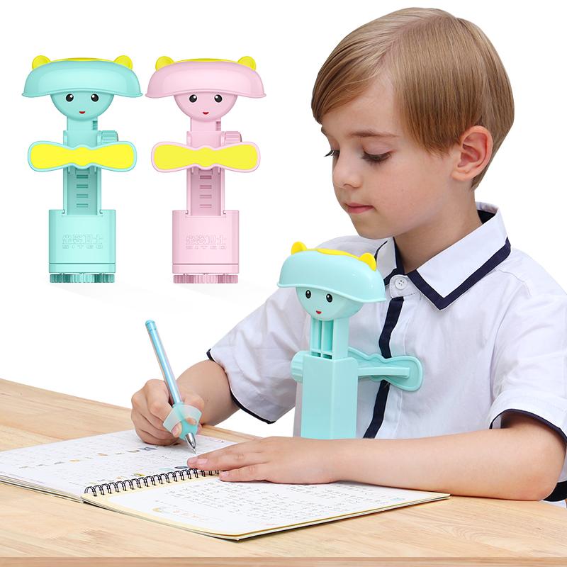 写字矫正器儿童坐姿矫正器预防小孩低头近视架纠正写字姿势矫正器学生用写作业神器视力保护器正姿护眼支架-给呗网