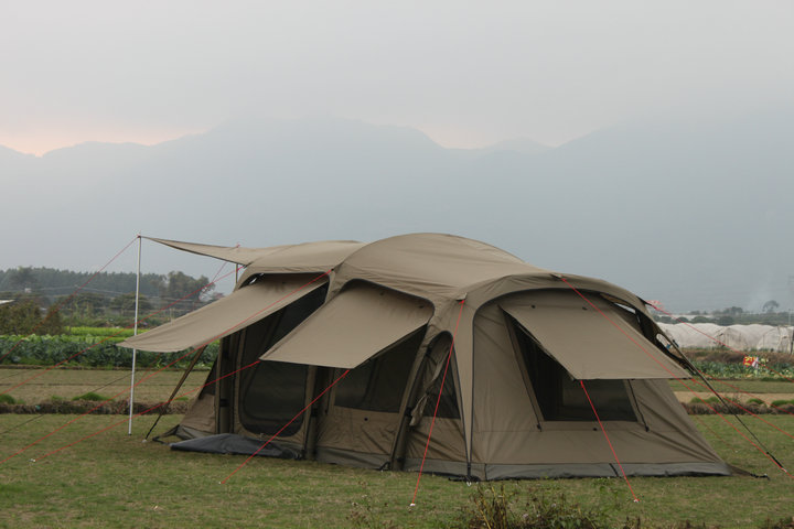 Darche outdoor inflatable tent camping without racks air column 5-8-10  people automatic tents drip leak PU 5000+ a5cbf36c7cfa