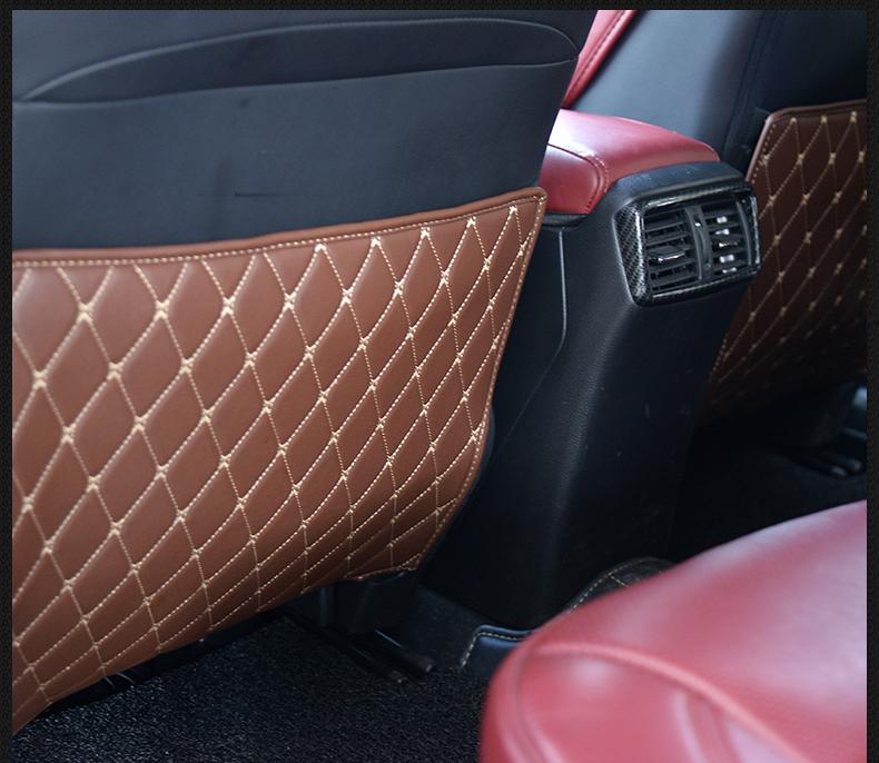 Ốp da sau ghế xe Nissan X-trail - ảnh 14
