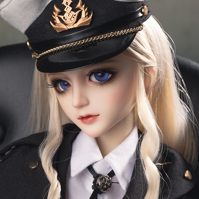 taobao agent Ringdoll ring human form Scarlet military uniform red ghost official genuine BJD doll SD female 3 points